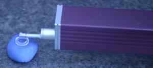 SJ-201 Detector on a Lens