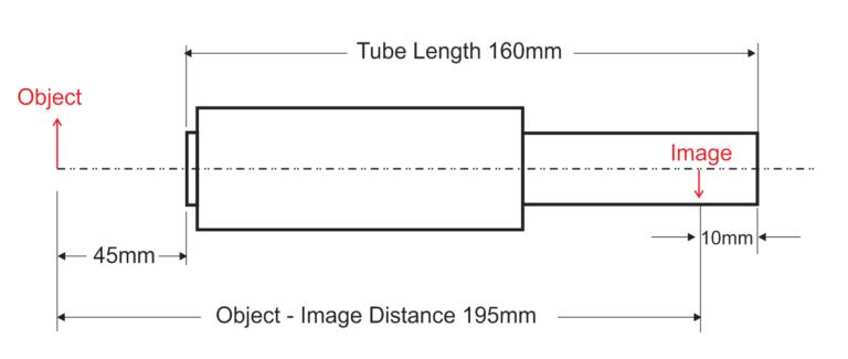 DIN Microscope Dimensions