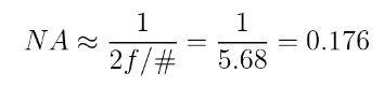 calculating NA